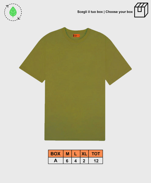 BASIC TEE GREEN [ BOX A ]