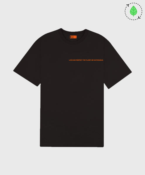 LOVE AND RESPECT TEE BLACK