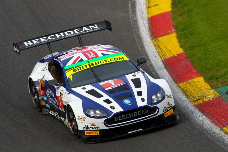 British GT Setback for Beechdean AMR at Spa