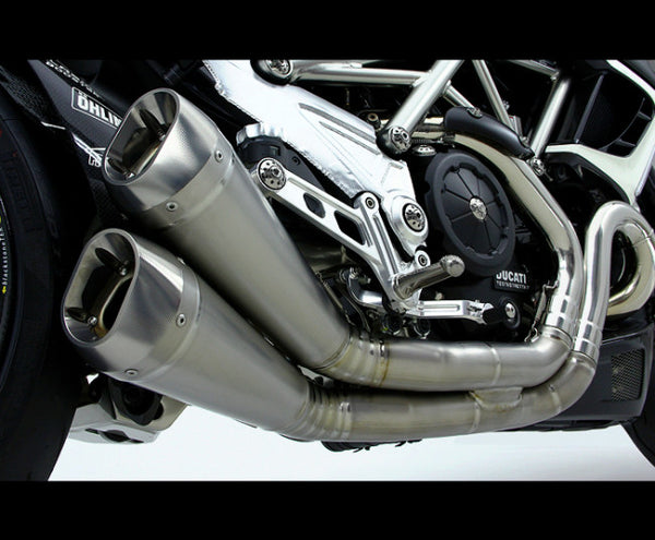 "MOTOCORSE TITANIUM ""GROSSO DUE"" SLIP-ON EXHAUST SYSTEM"