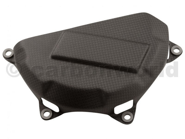 MATTE CARBON CLUTCH COVER FOR DUCATI PANIGALE 1199 S 1299 S BY CARBONWORLD
