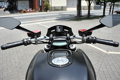 AELLA DUCATI DIAVEL ALUMINUM CNC MACHINED ADJUSTABLE HANDLEBAR /AE-27029 - DennisPowerSport - 1