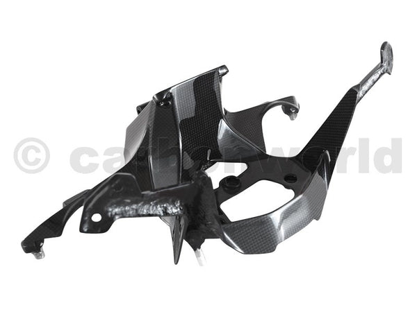 MATTE CARBON FAIRING BRACKET FOR DUCATI PANIGALE 959 1299 S BY CARBONWORLD