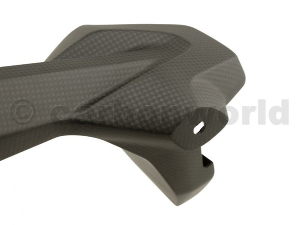 MATTE CARBON NUMBER PLATE HOLDER FOR DUCATI PANIGALE 899 959 1199 1299 S BY CARBONWORLD