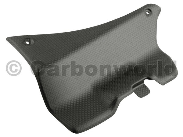 MATTE CARBON BATTERY COVER FOR DUCATI PANIGALE 899 1199 959 1299 S BY CARBONWORLD