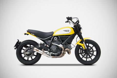 ZARD ZUMA SLIP-ON EXHAUST FOR DUCATI SCRAMBLER