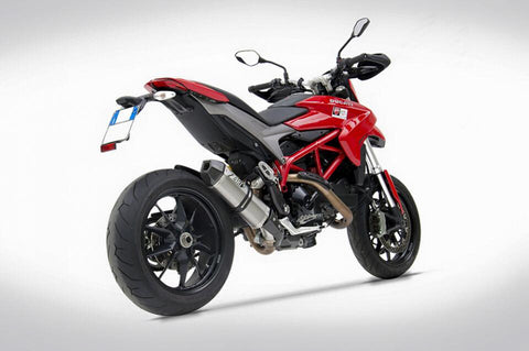 ZARD PENTA SLIP-ON FOR THE DUCATI HYPERMOTARD 821 / SP / HYPERSTRADA 821 - DennisPowerSport - 1