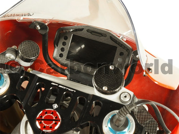 MATTE CARBON COCKPIT COVER FOR DUCATI PANIGALE 899 959 1199 S 1299 S BY CARBONWORLD