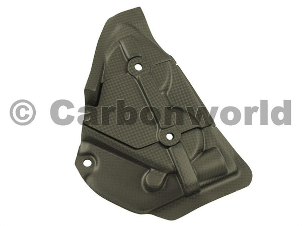 MATTE CARBON TANK GUARD FOR DUCATI PANIGALE 1199 S 1299 S BY CARBONWORLD