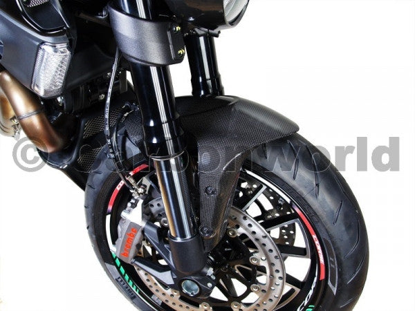 CARBON FRONT FENDER FOR DUCATI DIAVEL BY CARBONWORLD - DennisPowerSport - 2