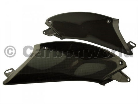 CARBON SIDE PANELS FOR DUCATI DIAVEL BY CARBONWORLD - DennisPowerSport - 1
