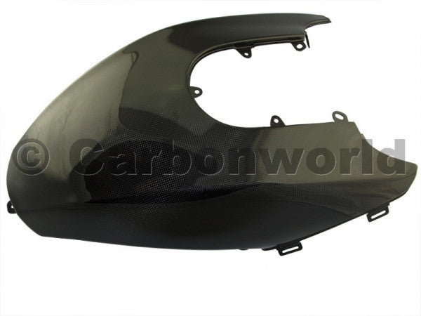 CARBON FUEL TANK COVER FOR DUCATI DIAVEL BY CARBONWORLD - DennisPowerSport - 1