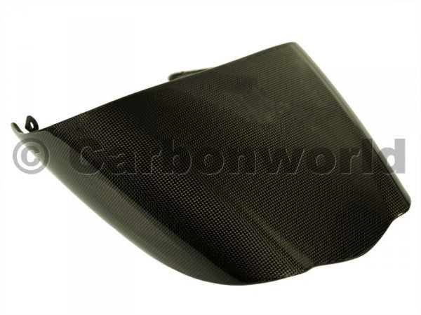 CARBON PASSENGER SEAT COVER FOR DUCATI DIAVEL BY CARBONWORLD - DennisPowerSport - 1
