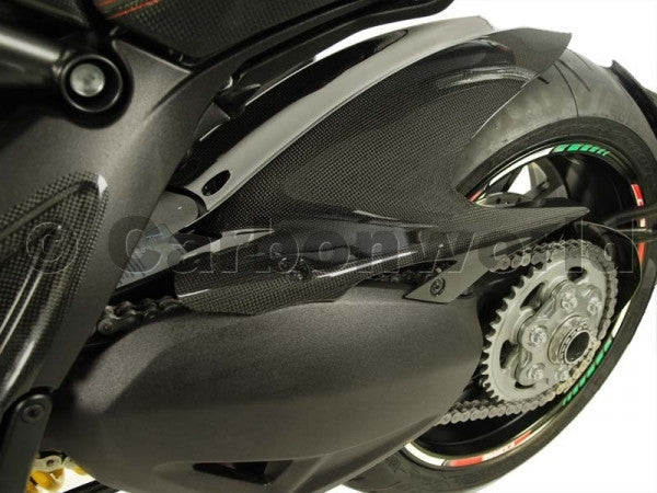 CARBON REAR FENDER FOR DUCATI DIAVEL BY CARBONWORLD - DennisPowerSport - 2