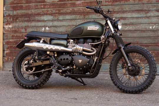 ZARD EXHAUST HIGHT MOUNTED FULL KIT 2>1 Triumph SCRAMBLER < M.Y. 2016 INJECTION ZTPH034SKA