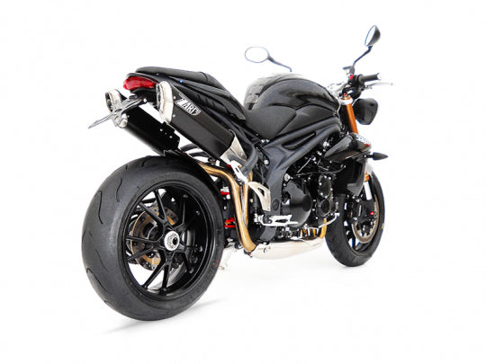 ZARD EXHAUST HIGH MOUNTED SILENCERS Triumph SPEED TRIPLE 1050 > M.Y. 2011 PENTA VERSION ZTPH510ASR
