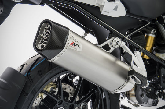 ZARD EXHAUST SILENCER BMW R 1250 GS > 2019 SLIP-ON VERSION ZBMW523SSR-FC