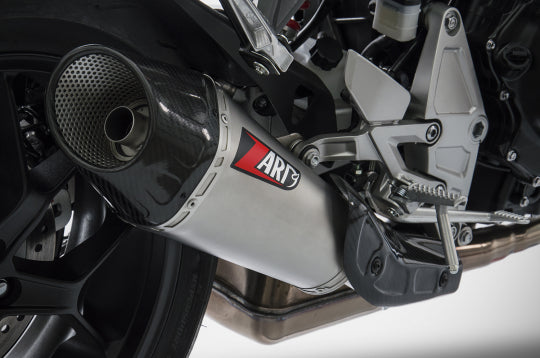 ZARD EXHAUST SILENCER HONDA CB 1000 R 2018-2019 SLIP-ON VERSION ZHND368STR-FC