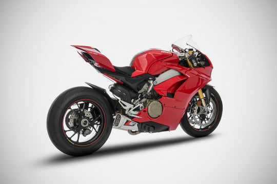 ZARD EXHAUST COMPENSATED EXHAUST Ducati PANIGALE V4/V4S SLIP-ON VERSION ZD1101TSR