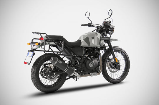 ZARD EXHAUST PENTA SLIP-ON ROYAL ENFIELD HIMALAYAN M.Y. 2019 LOW MOUNT VERSION ZRE535SSR