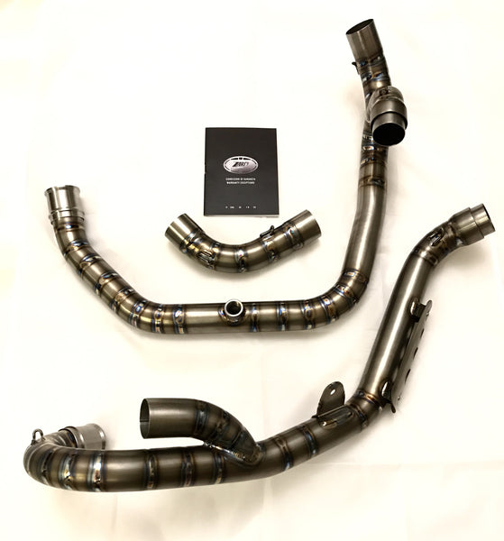 ZARD DUCATI SPORT1000 PAUL SMART SNAKE WELDING FULL TITANIUM EXHAUST SYSTEM