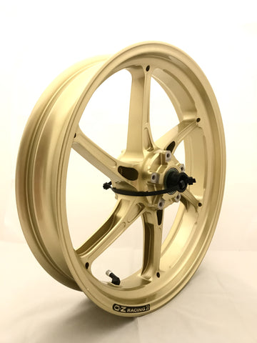 OZ MOTORBIKE CATTIVA FORGED MAGNESIUM WHEEL SET: DUCATI DUAL SWINGARM