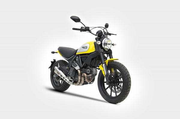 ZARD DUCATI SCRAMBLER LIMITED EDITION LOW MOUNT SLIP-ON EXHAUST / ZD778SSR - DennisPowerSport - 2