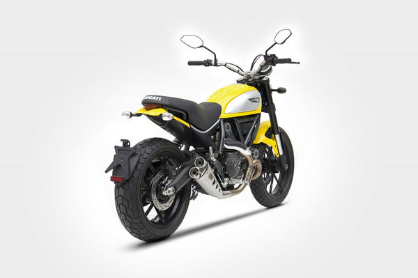 ZARD DUCATI SCRAMBLER LIMITED EDITION LOW MOUNT SLIP-ON EXHAUST / ZD778SSR - DennisPowerSport - 3