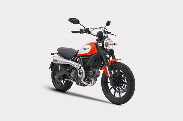 ZARD DUCATI SCRAMBLER LIMITED EDITION HIGH MOUNT FULL SYSTEM EXHAUST / ZD779SKR - DennisPowerSport - 2