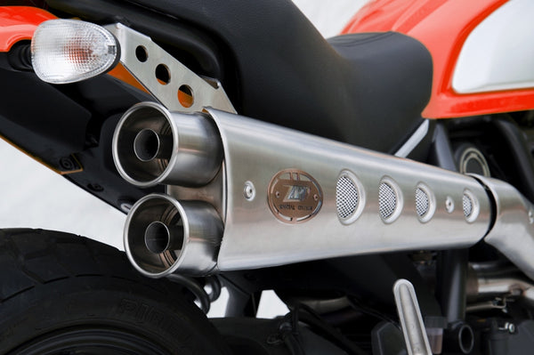 ZARD DUCATI SCRAMBLER LIMITED EDITION HIGH MOUNT FULL SYSTEM EXHAUST / ZD779SKR - DennisPowerSport - 3