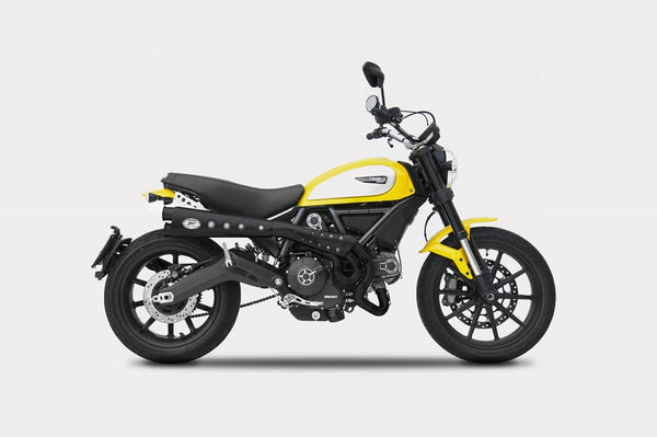 ZARD DUCATI SCRAMBLER LIMITED EDITION HIGH MOUNT FULL SYSTEM EXHAUST / ZD779SKR - DennisPowerSport - 5