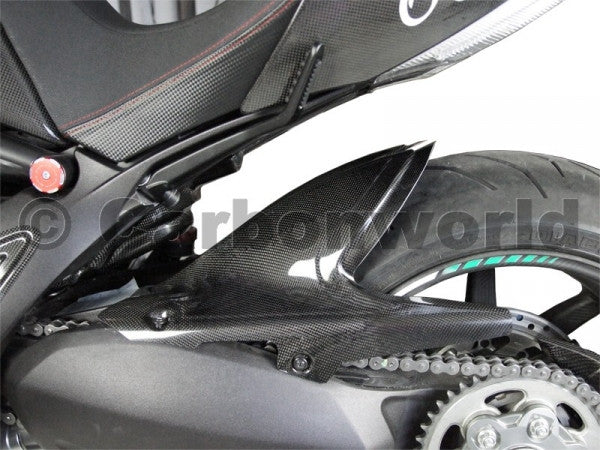 Carbon Rear Fender For Ducati Diavel By Carbonworld Dennispowersport