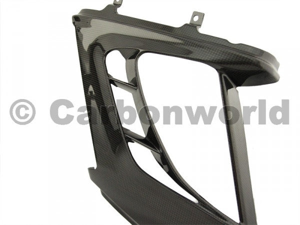 CARBON FUEL RADIATOR COVER FOR DUCATI DIAVEL BY CARBONWORLD - DennisPowerSport - 2