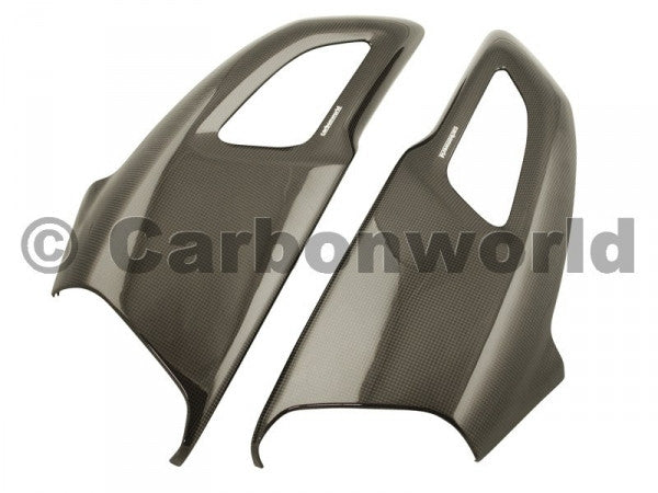 CARBON RAM AIR CHANNELS FOR DUCATI DIAVEL BY CARBONWORLD - DennisPowerSport - 1