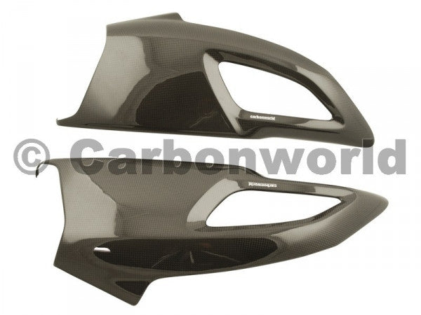 CARBON RAM AIR CHANNELS FOR DUCATI DIAVEL BY CARBONWORLD - DennisPowerSport - 2