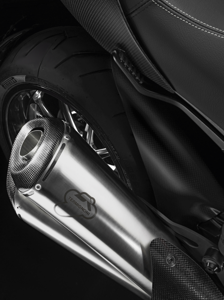 TERMIGNONI DUCATI DIAVEL HOMOLOGATED STAINLESS-STEEL SILENCERS