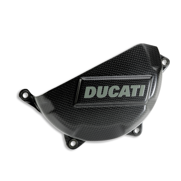 DUCATI PANIGALE CARBON CLUTCH CASE COVER / #96451011B - DennisPowerSport - 1