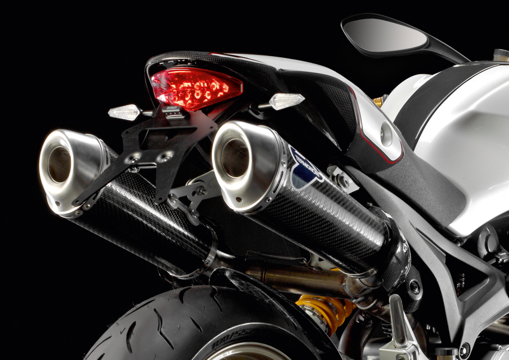 TERMIGNONI DUCATI MONSTER 796 CARBON SLIP-ON EXHAUST ...