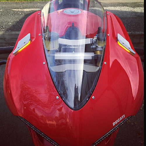 Ducati 959 Panigale Mirror Block Off Turn Signals
