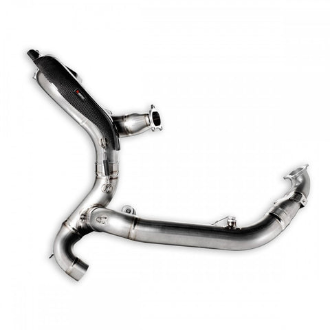 AKRAPOVIC DUCATI PANIGALE 1299 EXHAUST COLLECTORS - DennisPowerSport