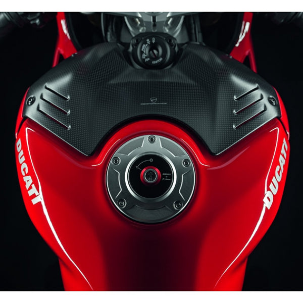 DUCATI PANIGALE V4 CARBON TANK FRONT COVER 96981051A