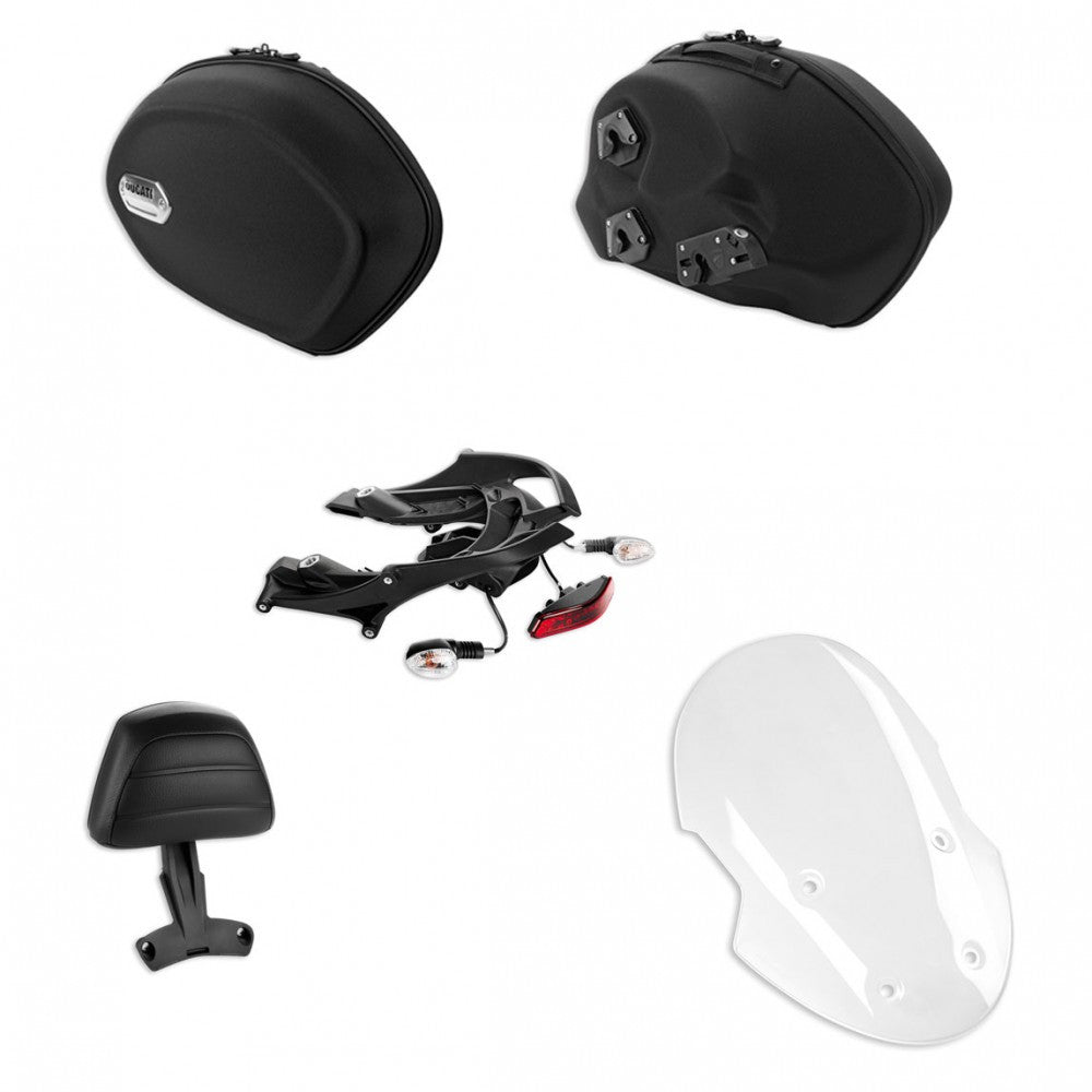 DUCATI DIAVEL TOURING ACCESSORY PACKAGE / 97980131A - DennisPowerSport