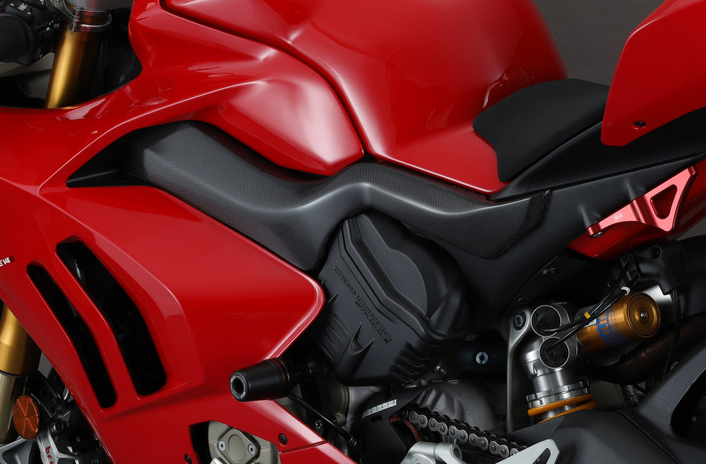 AELLA DUCATI PANIGALE V4 CARBON FRAME COVERS AC-V4-003