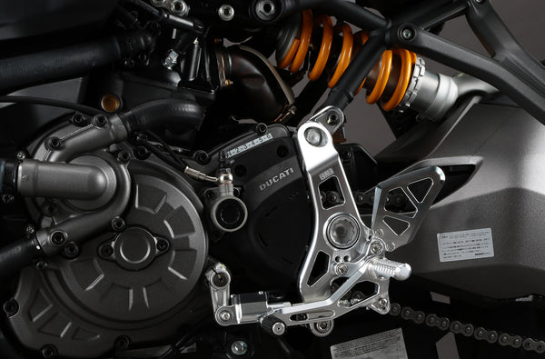 AELLA DUCATI MONSTER 1200 S MODELS AFTER 2017 ADJUSTABLE REARSETS AE-10084