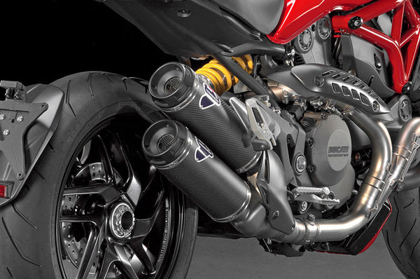 TERMIGNONI DUCATI MONSTER 821 HOMOLOGATED SLIP-ON EXHAUST / CARBON MUFFLERS
