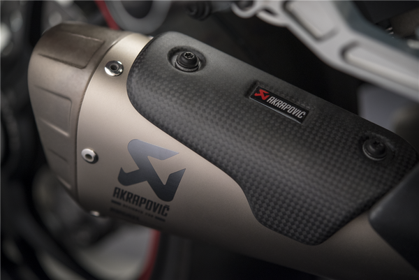 DUCATI STREETFIGHTER  V4 S  AKRAPOVIC TITANIUM FULL RACING SLIP-ON SILENCERS  96481661AA