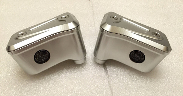 MOTO CORSE MACHINED FROM SOLID BRAKE AND CLUTCH OIL RESERVOIRS KIT - DennisPowerSport - 2