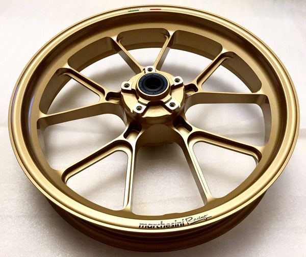 MARCHESINI FORGED ALUMINUM 10 SPOKE M10RS KOMPE WHEEL SET FOR DUCATI (FREE SHIPPING) - DennisPowerSport - 5