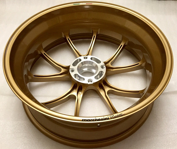 MARCHESINI FORGED ALUMINUM 10 SPOKE M10RS KOMPE WHEEL SET FOR DUCATI (FREE SHIPPING) - DennisPowerSport - 8