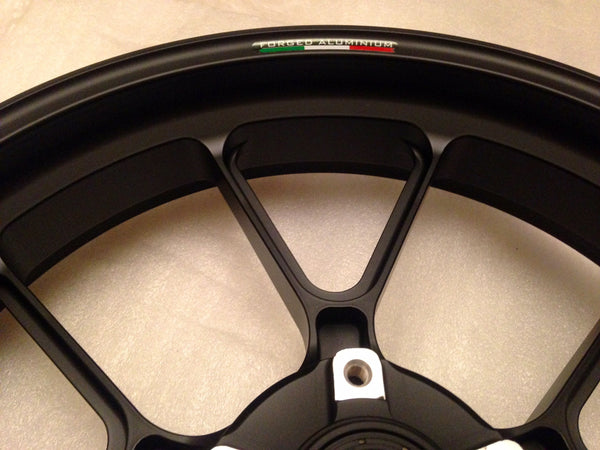 MARCHESINI FORGED ALUMINUM 10 SPOKE M10RS KOMPE WHEEL SET FOR DUCATI (FREE SHIPPING) - DennisPowerSport - 12